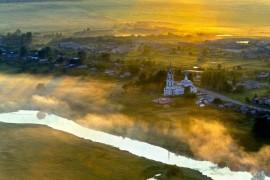 Сергей Фомин: Рассвет над Суздалем