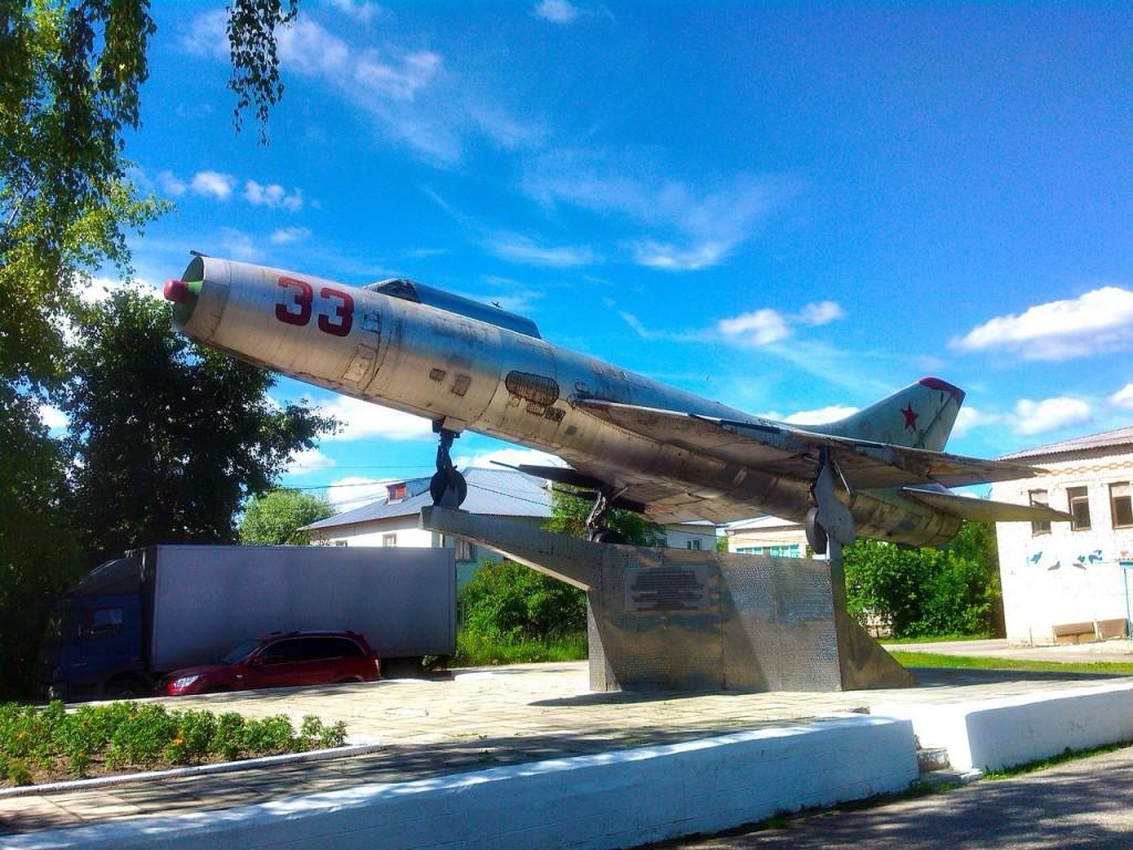 Самолет СУ-9. Красная Горбатка 01