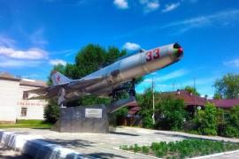 Самолет СУ-9. Красная Горбатка
