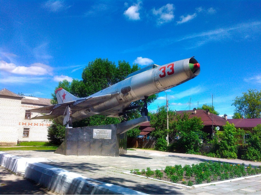 Самолет СУ-9. Красная Горбатка 02