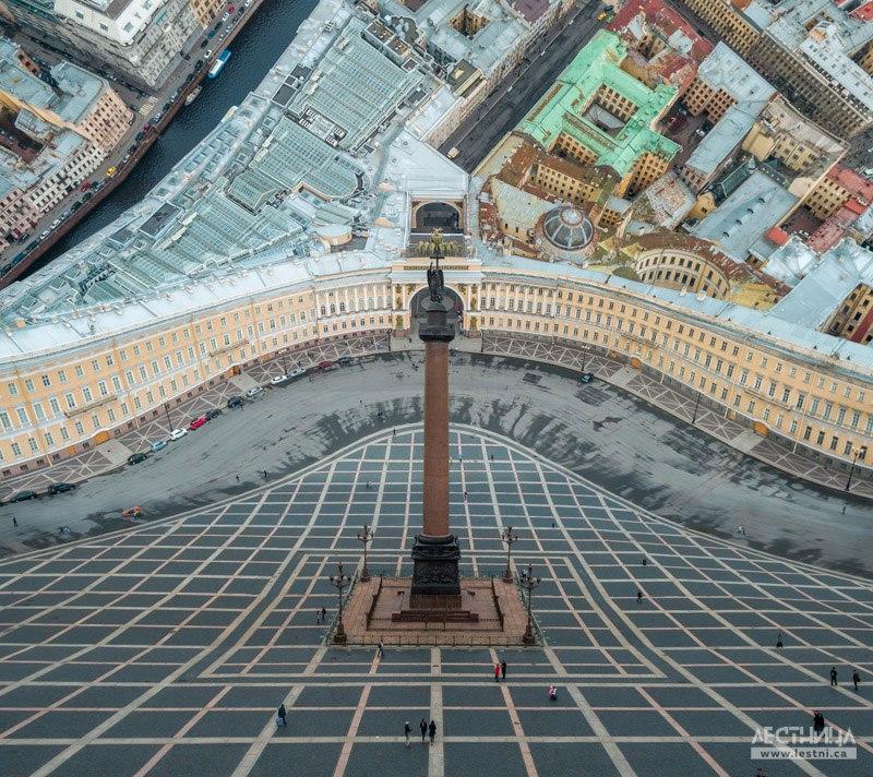 Санкт-Петербург. Уникальные фотографии в стиле Inception 02