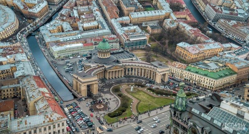 Санкт-Петербург. Уникальные фотографии в стиле Inception 03