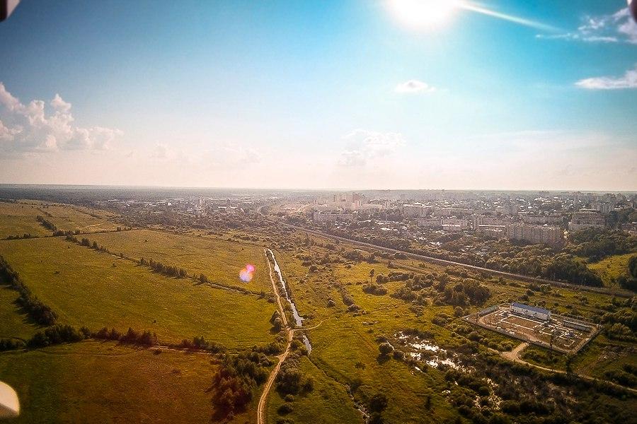 р.Клязьма и вид на город Вязники с южной стороны 04