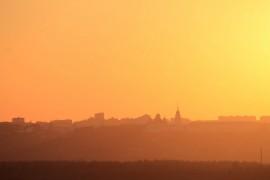 Владимирский закат, вид от Кусуново