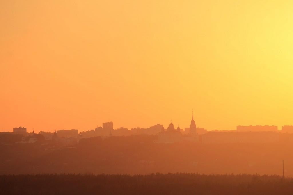 Владимирский закат, вид от Кусуново 01