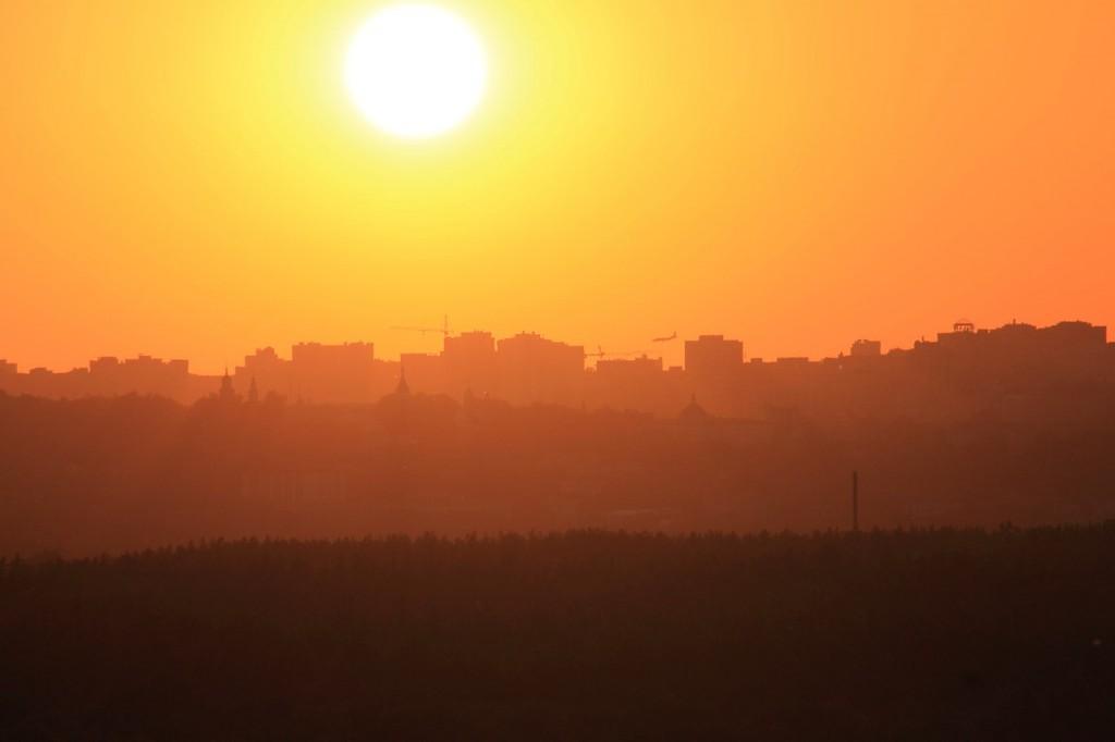 Владимирский закат, вид от Кусуново 02