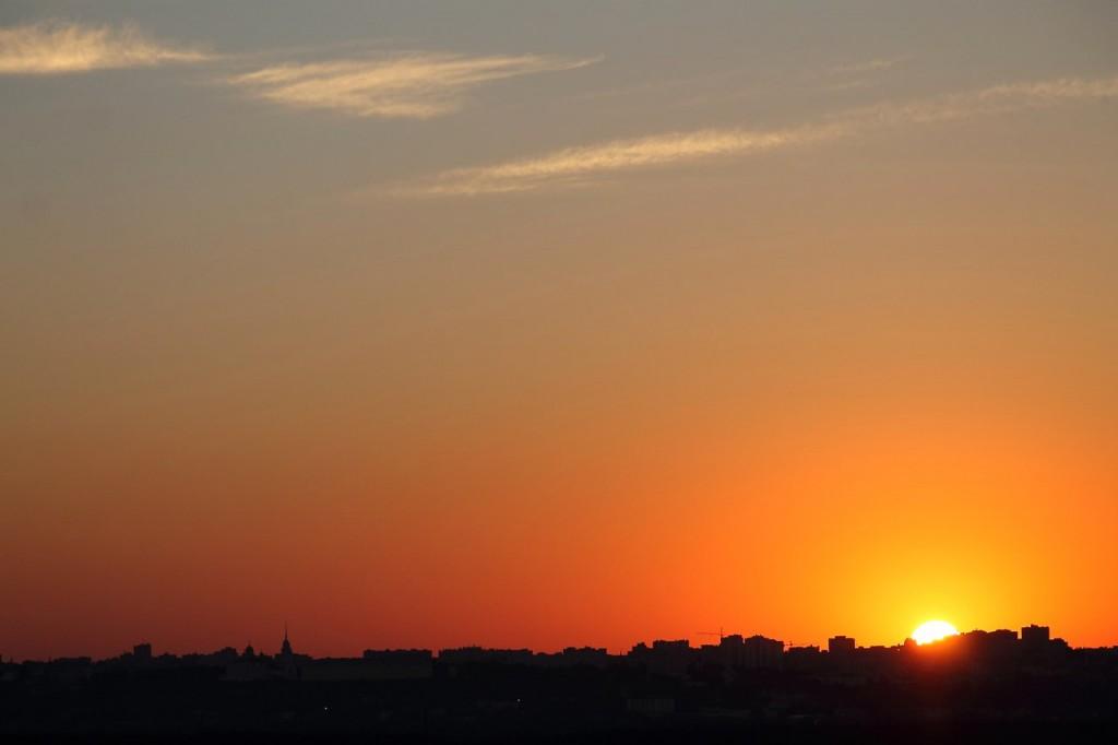Владимирский закат, вид от Кусуново 05