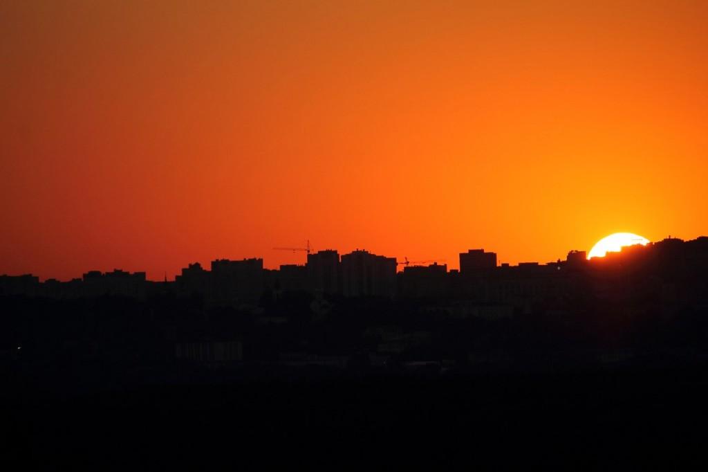 Владимирский закат, вид от Кусуново 06