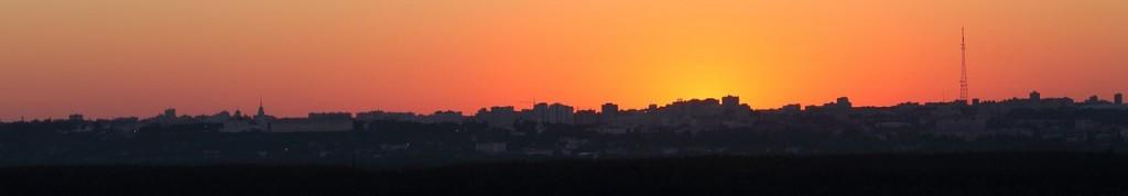 Владимирский закат, вид от Кусуново 07