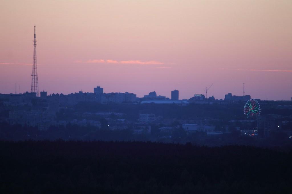 Владимирский закат, вид от Кусуново 10
