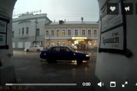 Любимый город Владимир после грозы