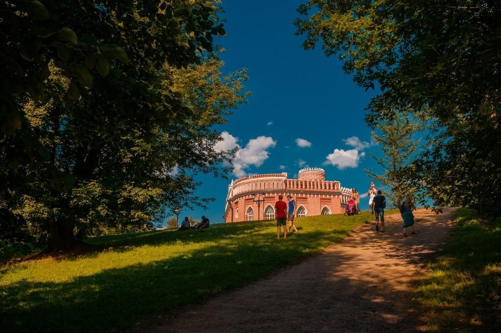 Дворцово-парковый ансамбль Царицыно в Москве 04
