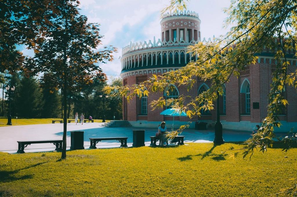 Дворцово-парковый ансамбль Царицыно в Москве 06