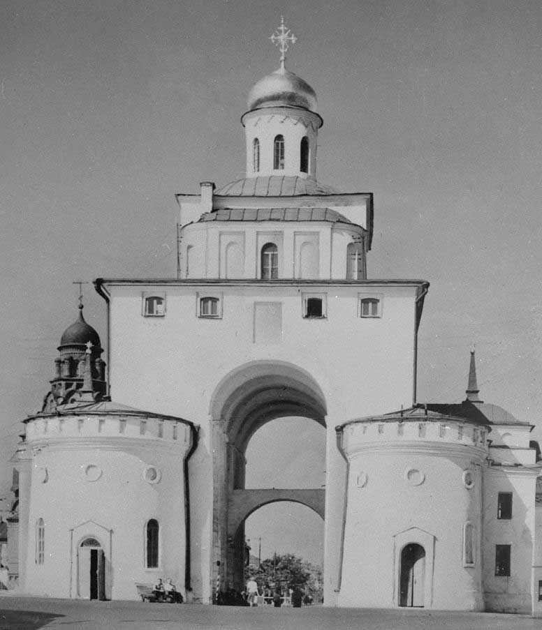 Жилое помещение над аркой Золотых Ворот (XX век)