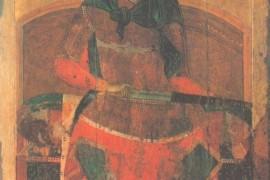 Икона с образом Дмитрия Солунского