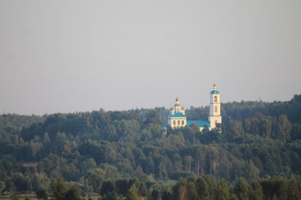 Казанская церковь в Борисоглебе. Судогодский район 01
