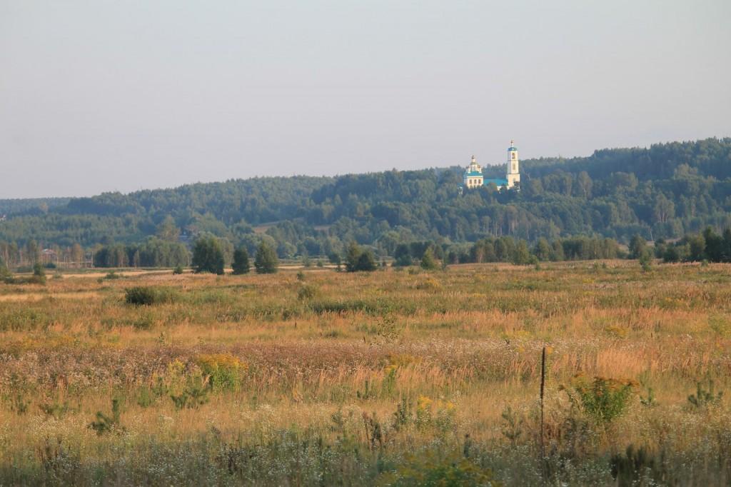 Казанская церковь в Борисоглебе. Судогодский район 02