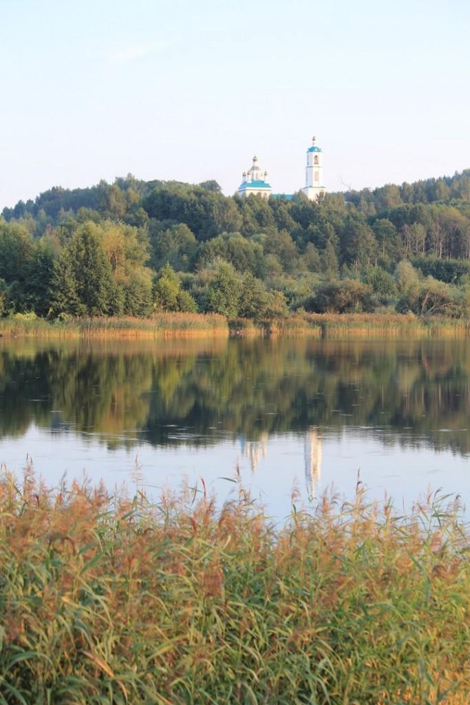 Казанская церковь в Борисоглебе. Судогодский район 03