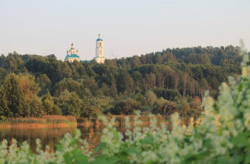 Казанская церковь в Борисоглебе. Судогодский район 05