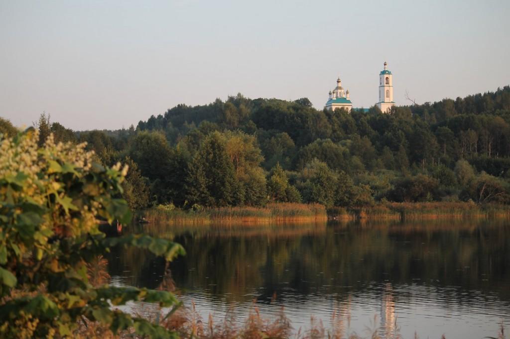 Казанская церковь в Борисоглебе. Судогодский район 06