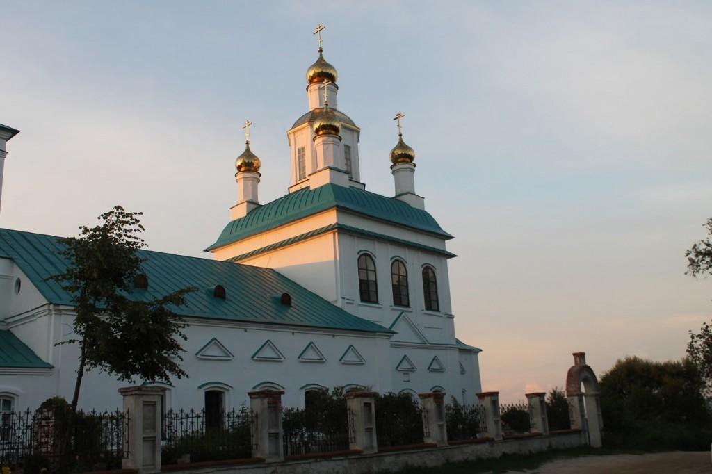 Казанская церковь в Борисоглебе. Судогодский район 07