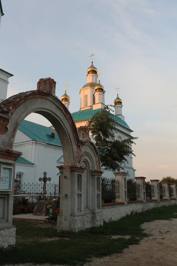 Казанская церковь в Борисоглебе. Судогодский район 10