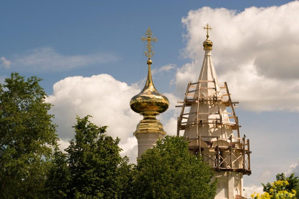 Купола храмов в Суздале 04