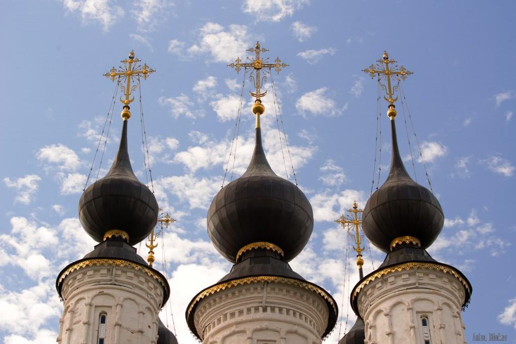 Купола храмов в Суздале 05