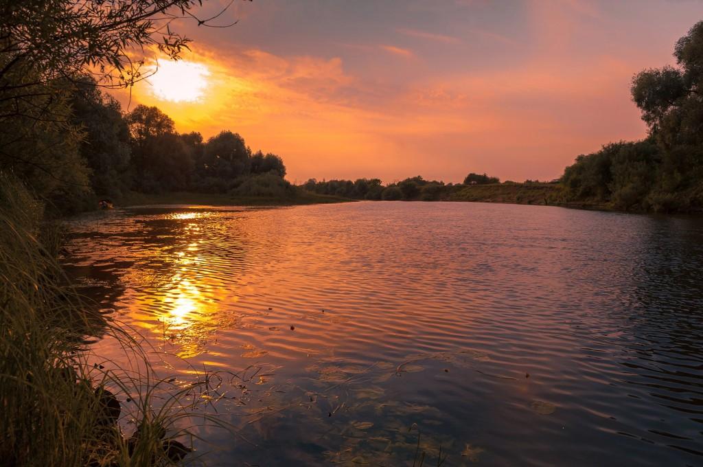 Летний закат Покрова-на-Нерли 08