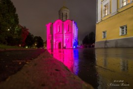Ночной Владимир, такой яркий и красочный