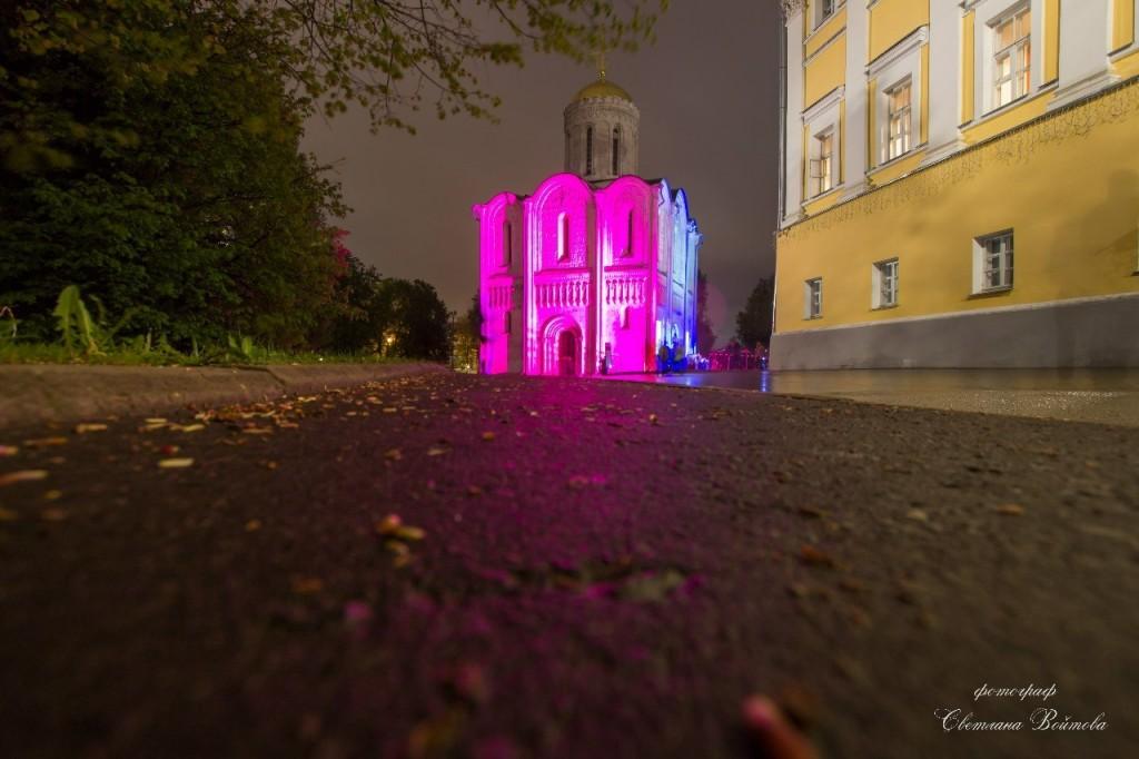 Ночной Владимир, такой яркий и красочный 05
