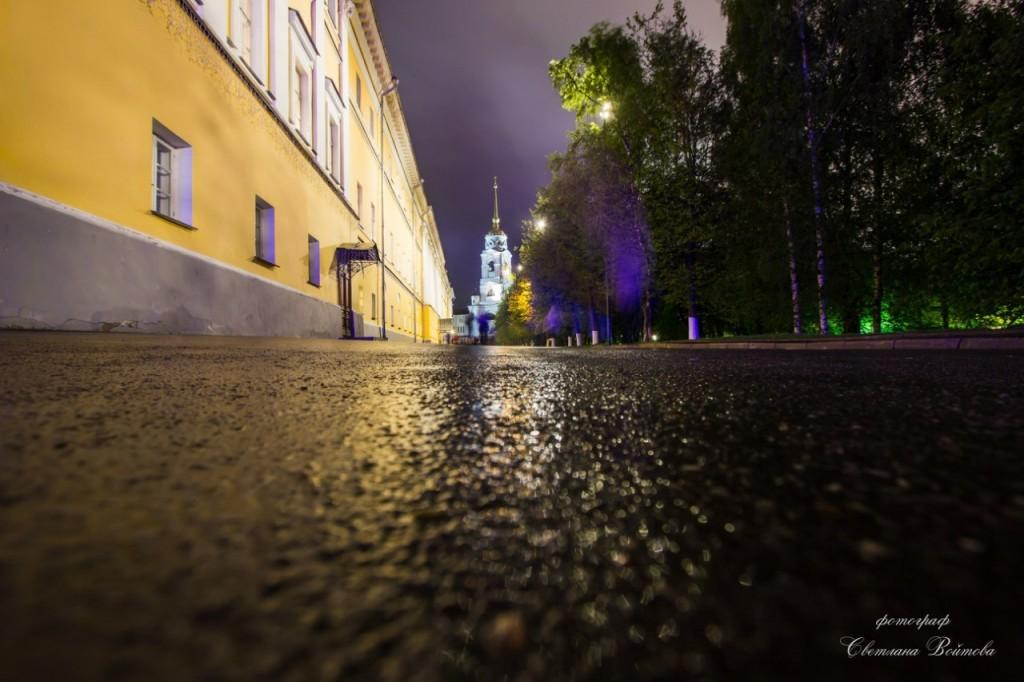 Ночной Владимир, такой яркий и красочный 07