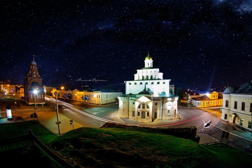 Ночные летние пейзажи города Владимир 02