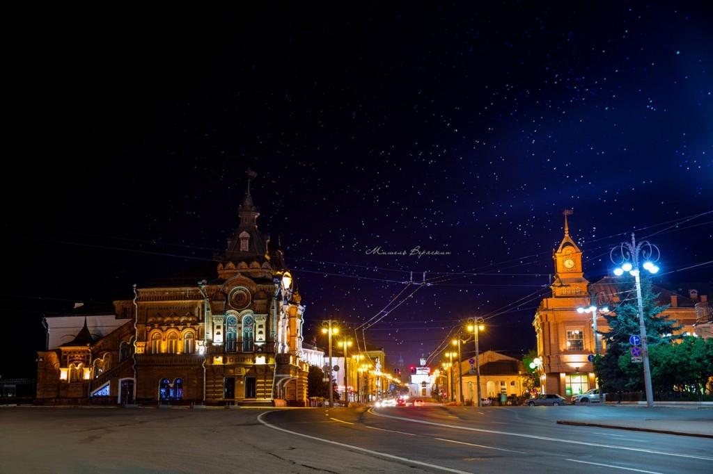 Ночные летние пейзажи города Владимир 04