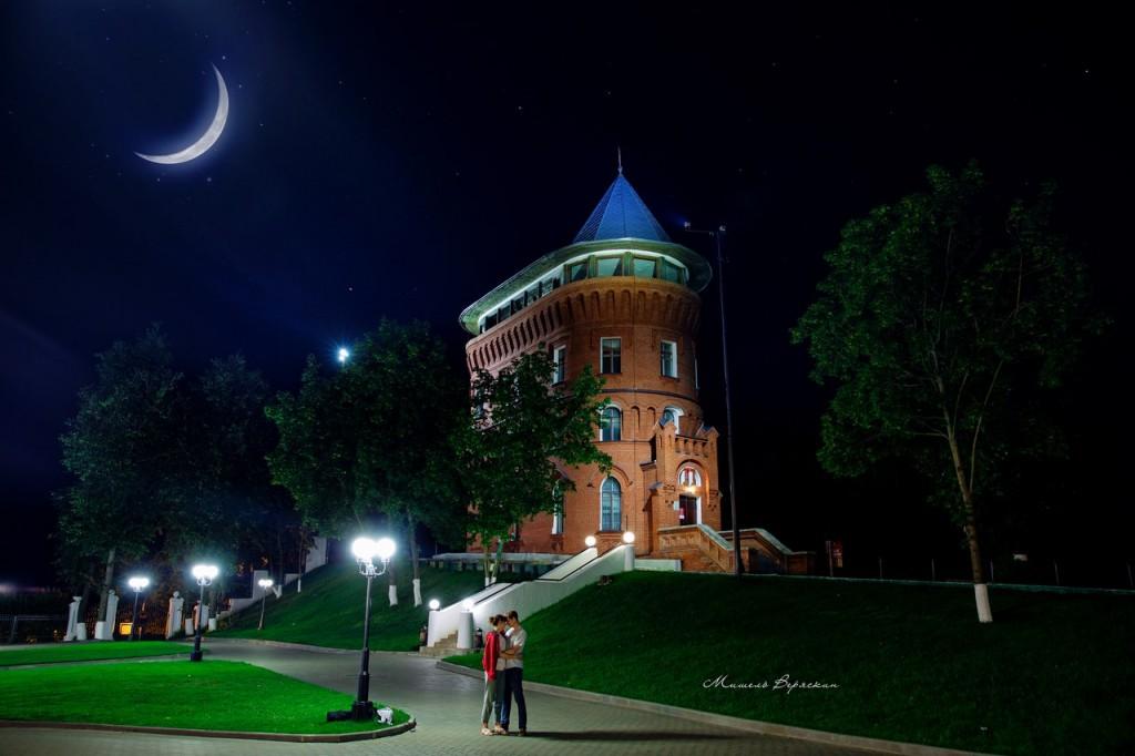 Ночные летние пейзажи города Владимир 05
