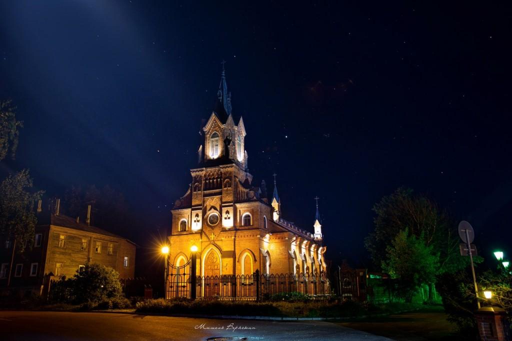 Ночные летние пейзажи города Владимир 06