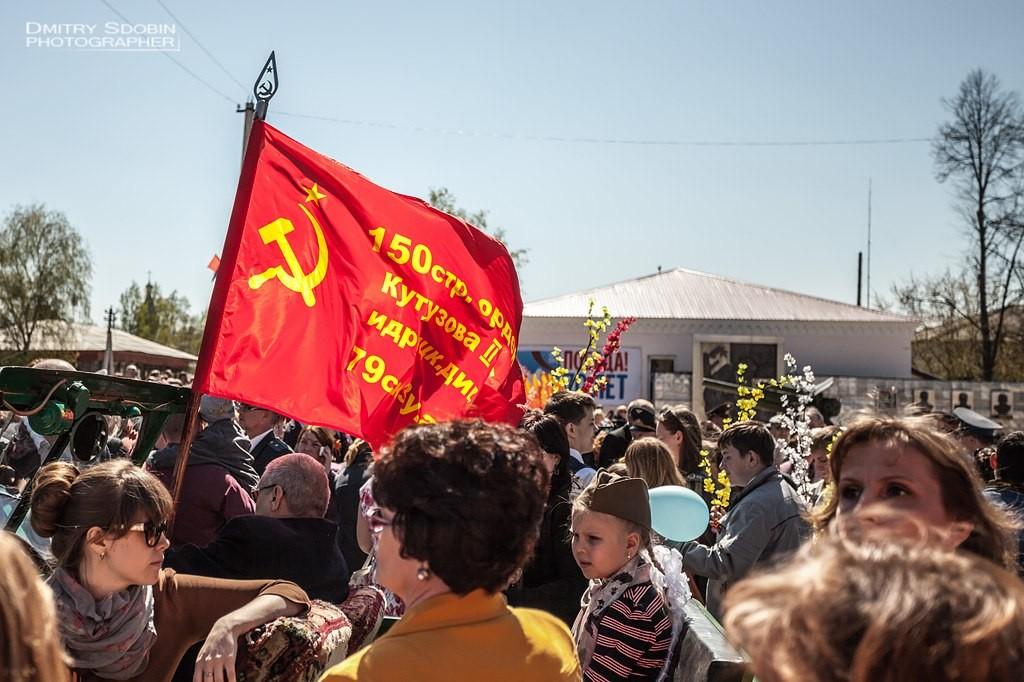 Парад, салют 9 Мая 2015 г. Меленки 05