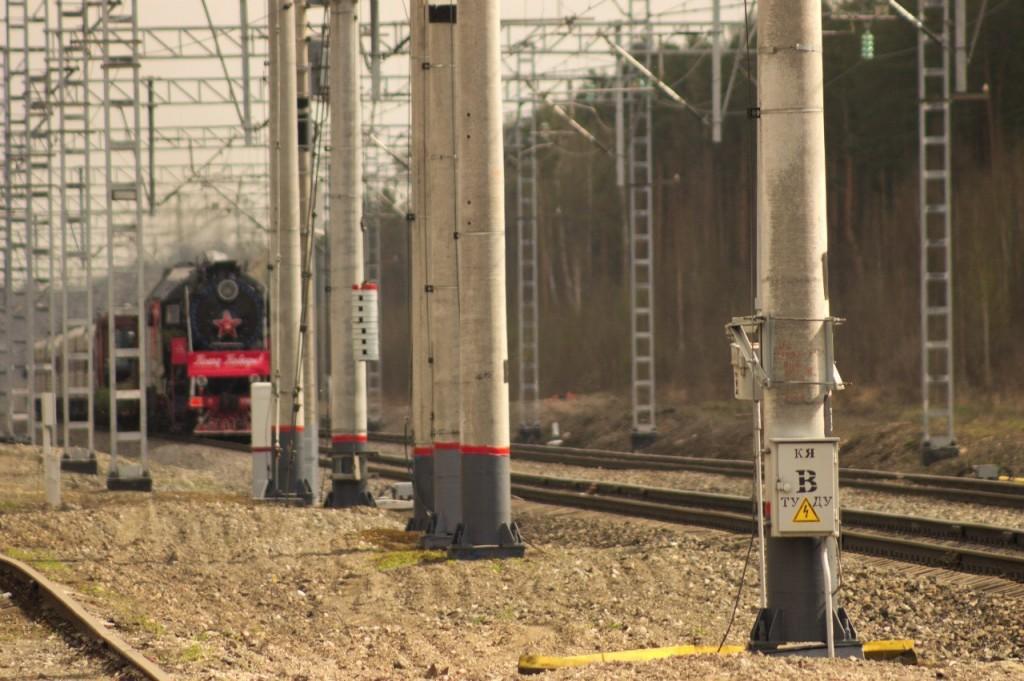Поезд Победы в Вязниках 05