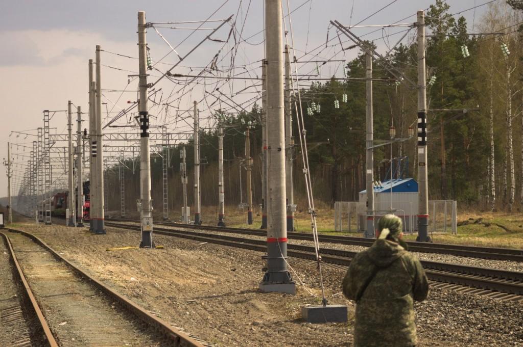 Поезд Победы в Вязниках 06