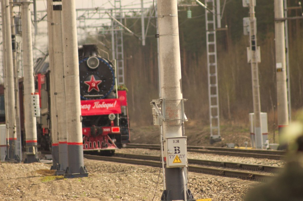 Поезд Победы в Вязниках 07
