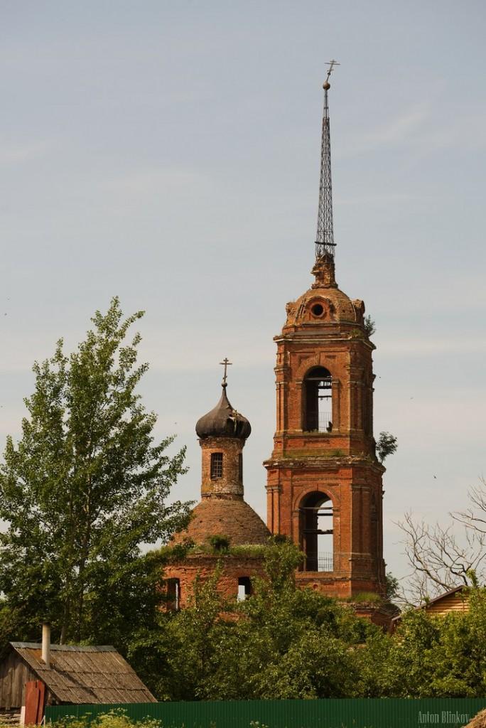 Покровская церковь в селе Клементьево