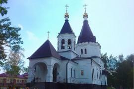 Поселок Красная Горбатка, Церковь Сергия и Никона Радонежских