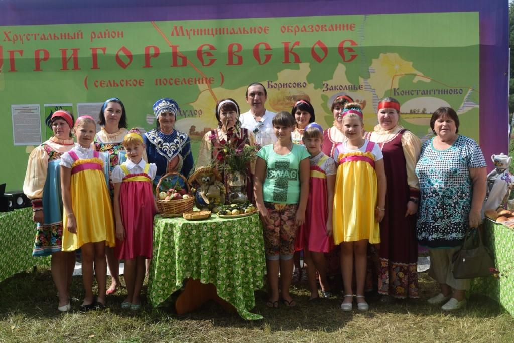 Празднования 90-летия Гусь-Хрустального района в д. Семёновка 09
