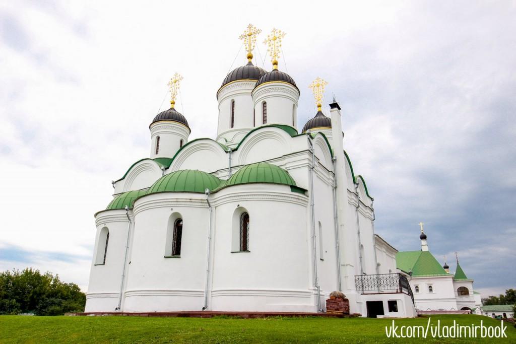 Прогулка по муромским монастырям в августе 06
