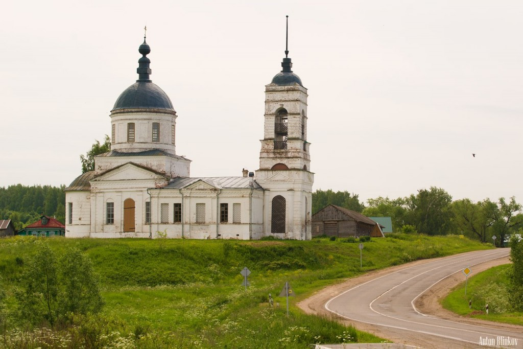 Село Кутуково, храм святого Николая