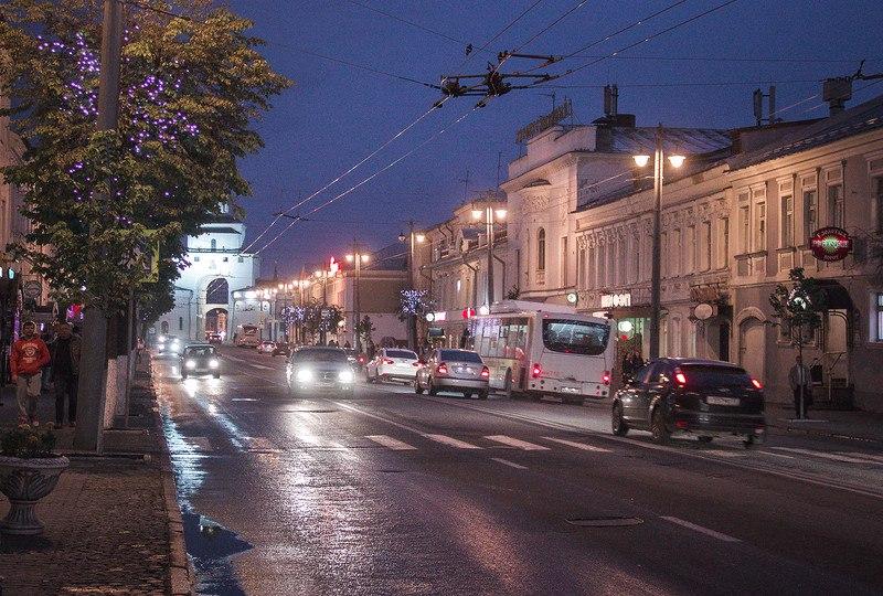 Украшение Владимира в ночь музеев 03