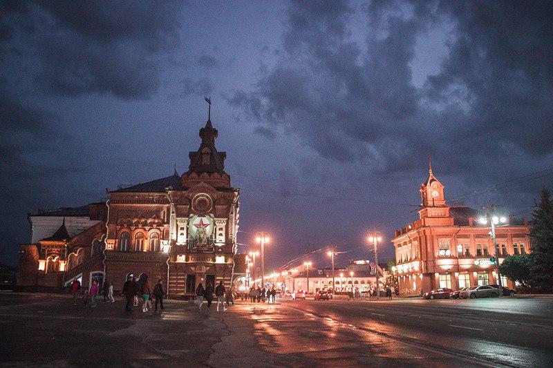 Украшение Владимира в ночь музеев 05