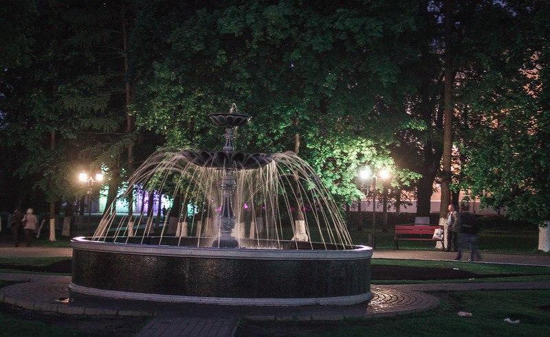 Украшение Владимира в ночь музеев 07