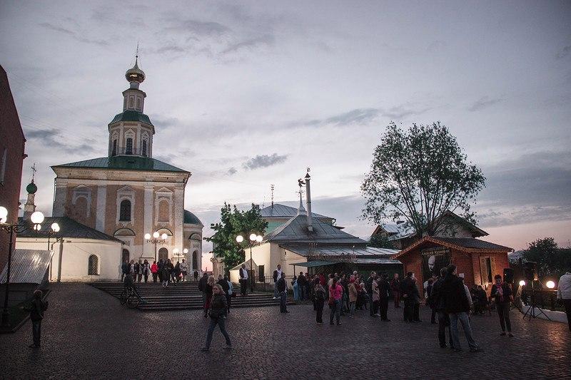 Украшение Владимира в ночь музеев 11