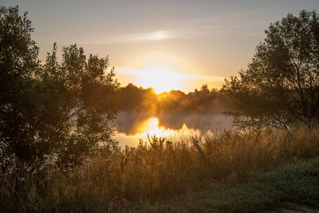 Утренний рассвет во Владимирской области 06